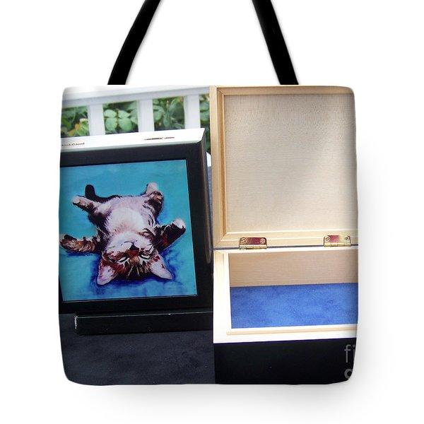 Keepsake Box Tote Bag by Pat Saunders-White