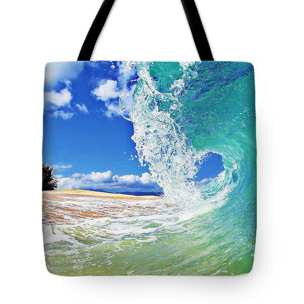 Keiki Beach Wave Tote Bag