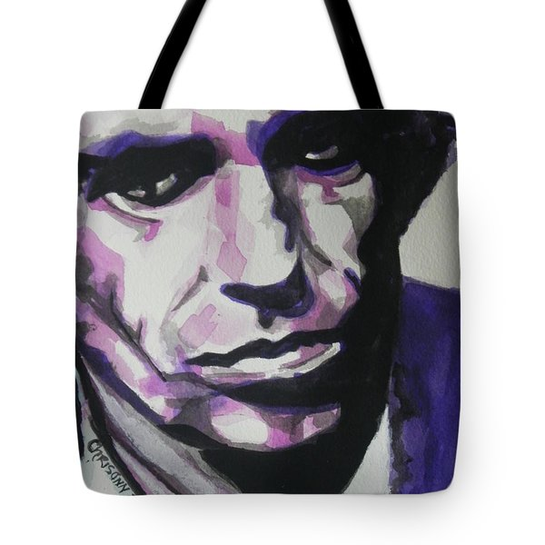 Keith Richards Tote Bag by Chrisann Ellis