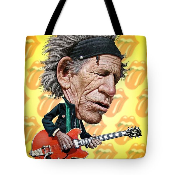 Keith Richards Tote Bag