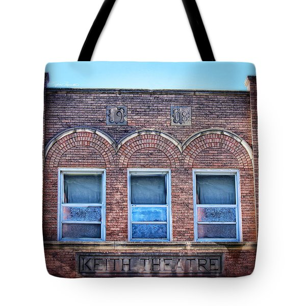 Keith Theater Tote Bag