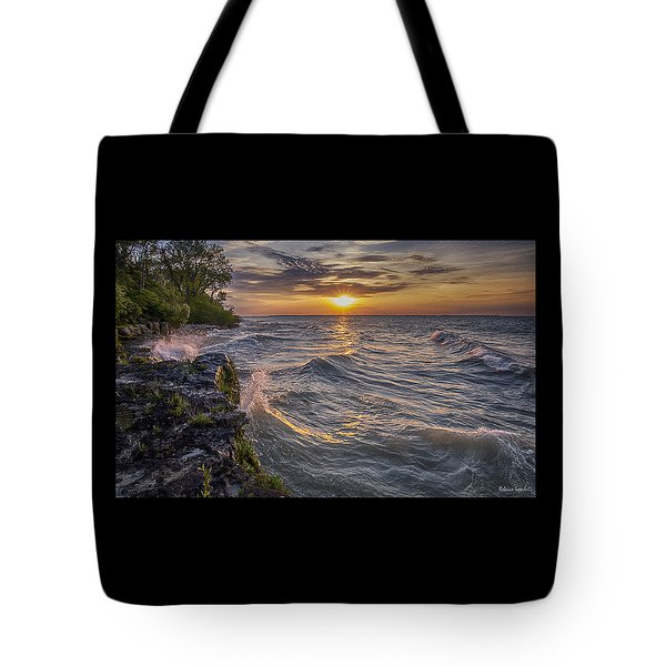 Kelleys Island At Sunset Tote Bag