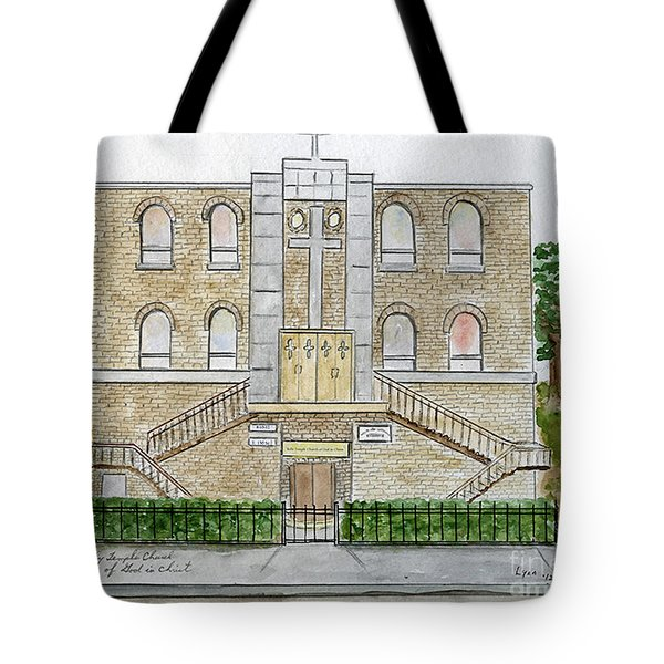 Kelly Temple Church In East Harlem Tote Bag