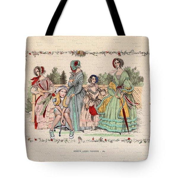 Kellyjo Meets Gody's Girls Tote Bag