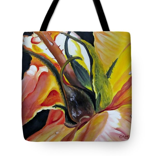 Kellys Rose Tote Bag