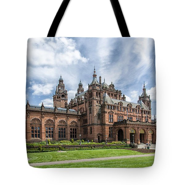 Kelvingrove Art Gallery And Museum Tote Bag