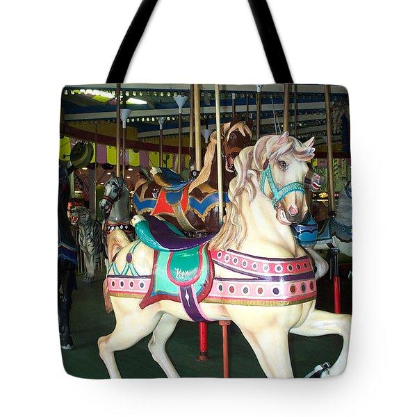 Ken Tote Bag by Barbara McDevitt