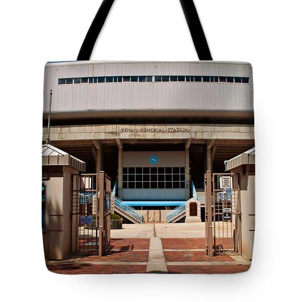Kenan Memorial Stadium - Gate 6 Tote Bag by Paulette B Wright