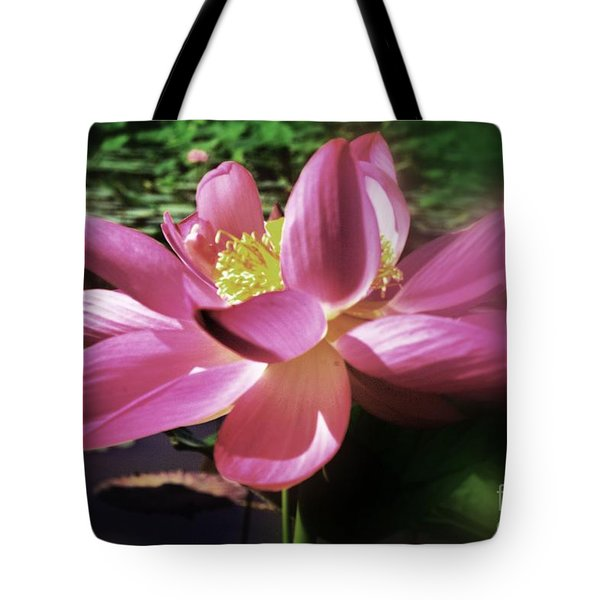 Tote Bag featuring the photograph Kenilworth Garden Three by John S