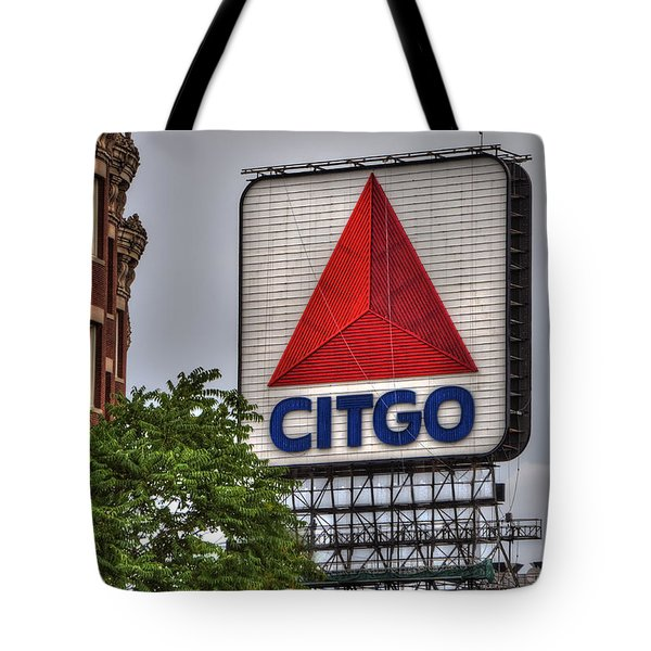 Kenmore Square And The Citgo Sign Tote Bag