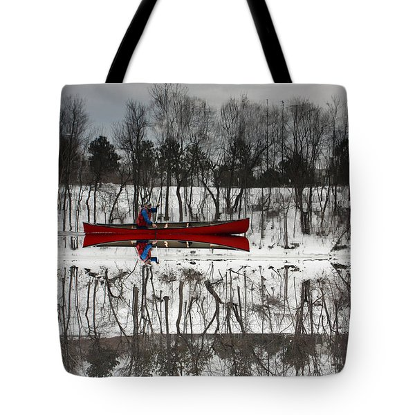 Kennebec Reflection Tote Bag