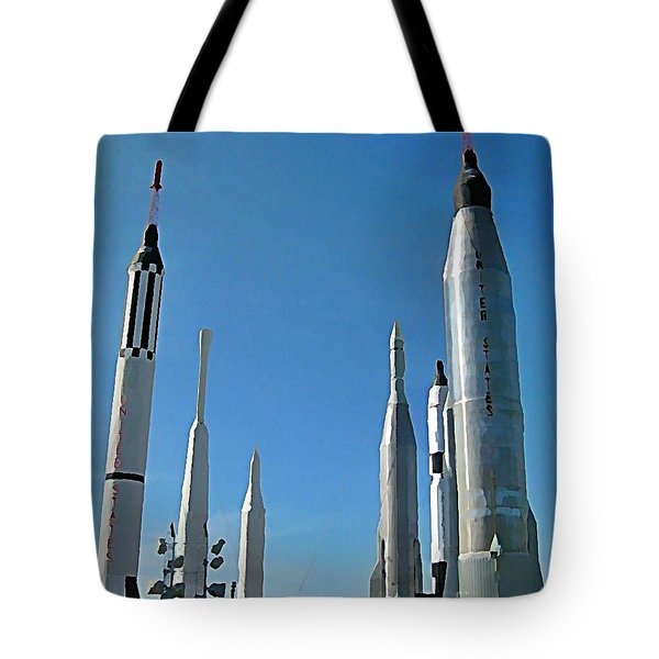 Kennedy Space Centre In Florida Tote Bag by John Malone