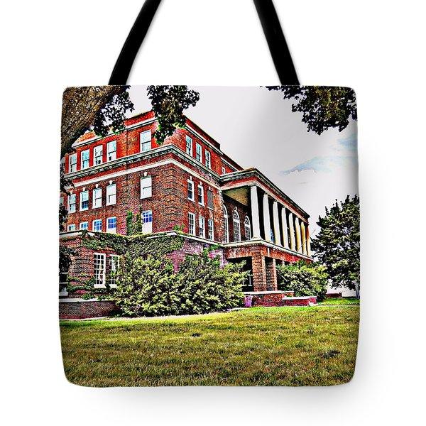 Kenosha Elks Club Tote Bag by Kay Novy