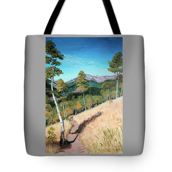 Kenosha Pass - Colrado Trail Tote Bag