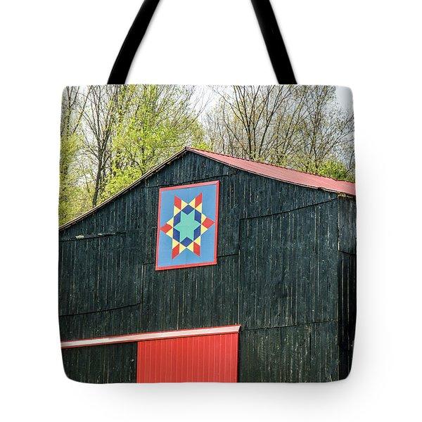 Kentucky Barn Quilt - 2 Tote Bag
