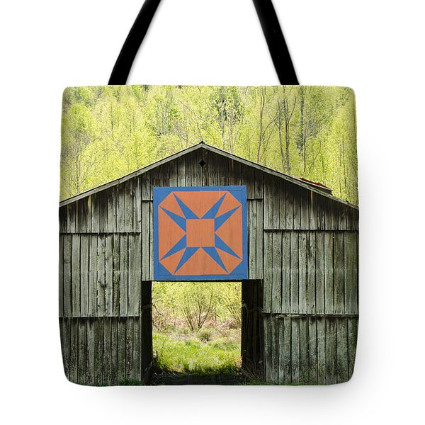 Kentucky Barn Quilt - Happy Hunting Ground Tote Bag