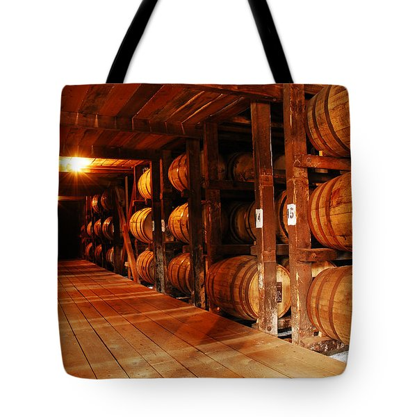 Kentucky Bourbon Aging In Barrels Tote Bag