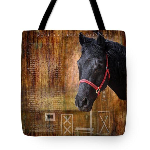 Kentucky Derby Winners Tote Bag