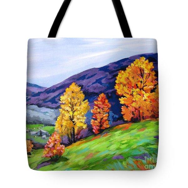 Kentucky Hillside Tote Bag