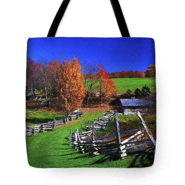 Kentucky Settlement Tote Bag by Paul W Faust -  Impressions of Light