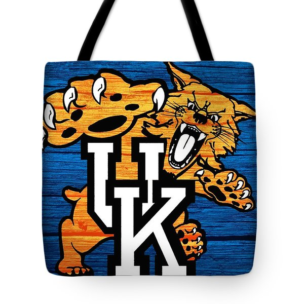 Kentucky Wildcats Barn Door Tote Bag