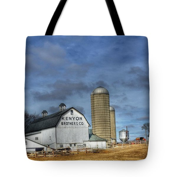 Kenyon Brothers Dairy Tote Bag