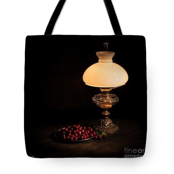 Kerosene Lamp Tote Bag by Torbjorn Swenelius