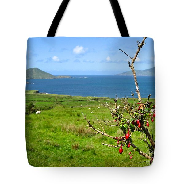 Kerry Me Away Tote Bag by Suzanne Oesterling