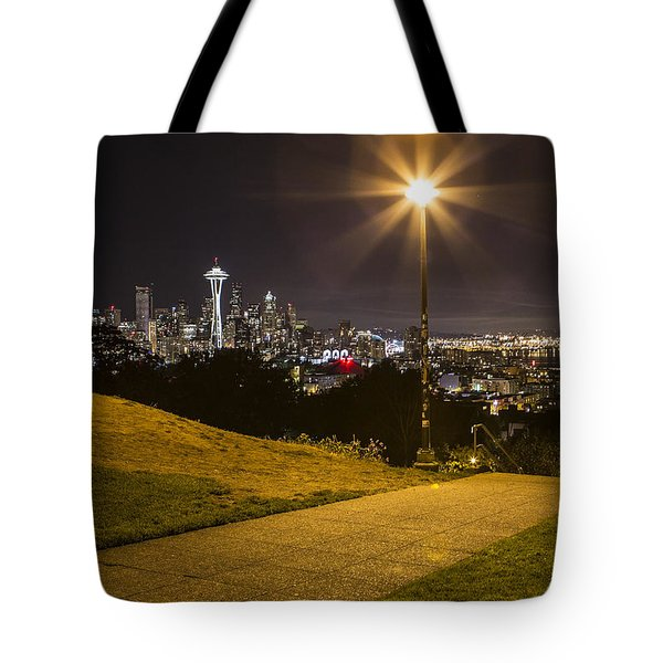 Kerry Park Seattle Tote Bag