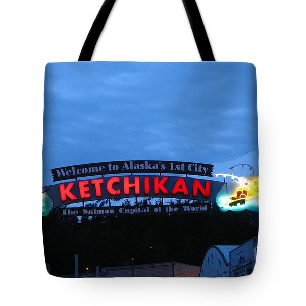Ketchikan Tote Bag by Robert Bales