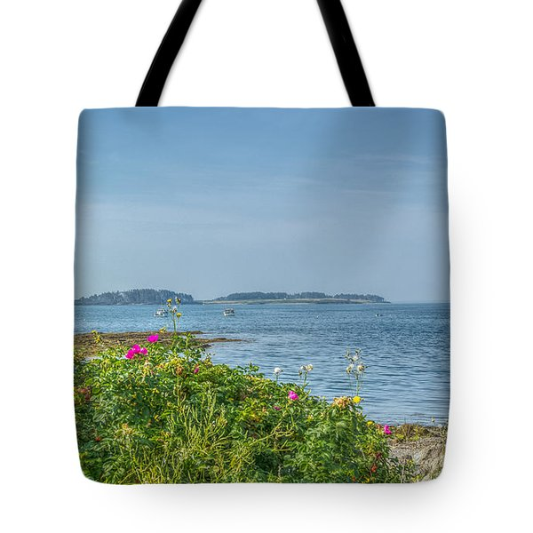 Tote Bag featuring the photograph Kettle Cove by Jane Luxton