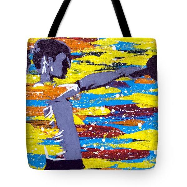 Kettlebell Tote Bag by Denise Deiloh