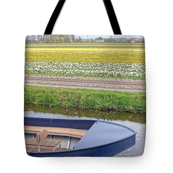 Keukenhof Bulb Field Tote Bag