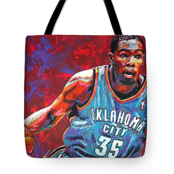 Kevin Durant 2 Tote Bag