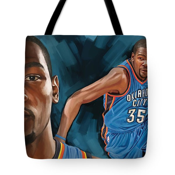 Kevin Durant Artwork Tote Bag