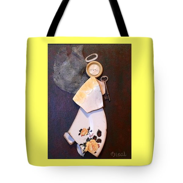 Key Angel Tote Bag