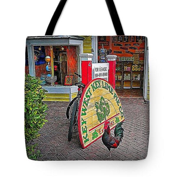 Key Lime Pie Co. Tote Bag