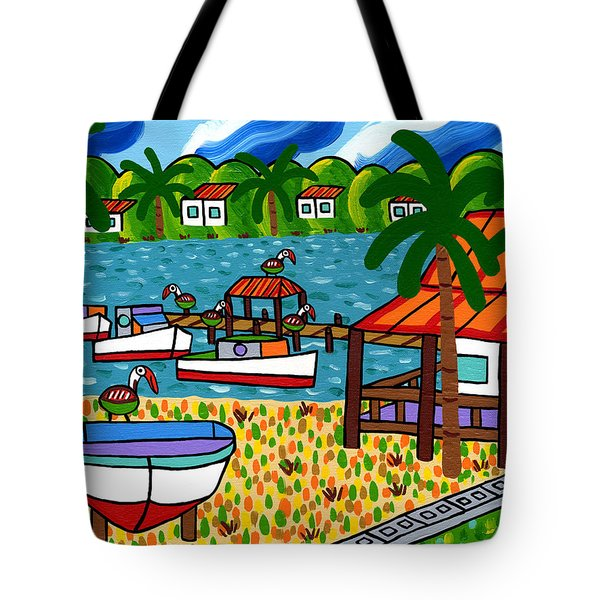 Key Motel-cedar Key Tote Bag
