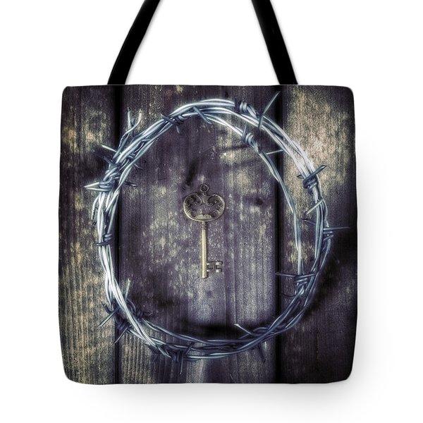 Key Of A Treasure Chest Tote Bag by Joana Kruse