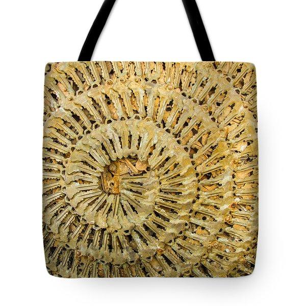 Key Ring Tote Bag by Jean Noren