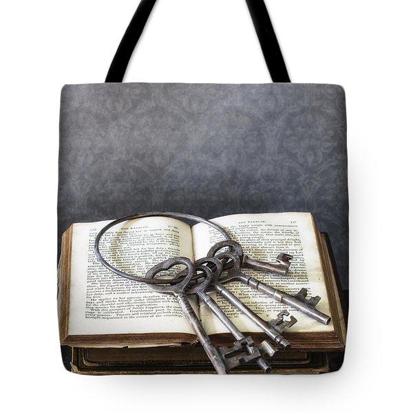 Key Ring Tote Bag by Joana Kruse