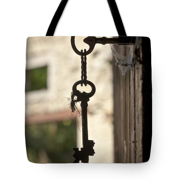 Key Study Tote Bag by Georgia Fowler