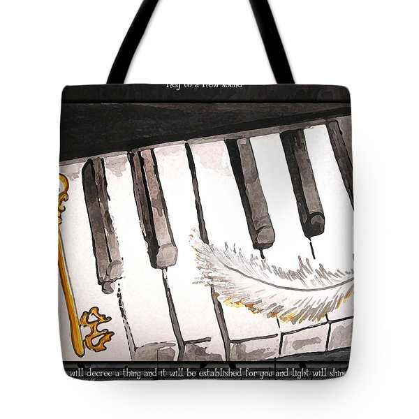 Key To A New Sound Tote Bag