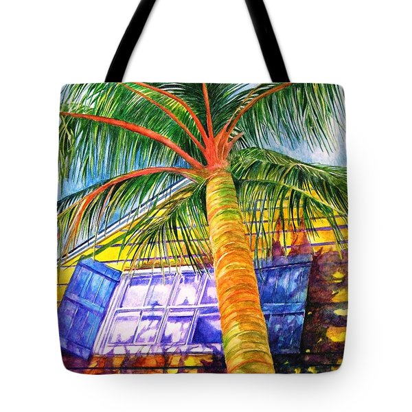 Key West Cat On A Hot Tin Roof Tote Bag