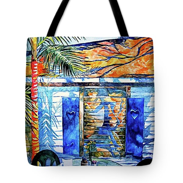 Key West Still Life Tote Bag
