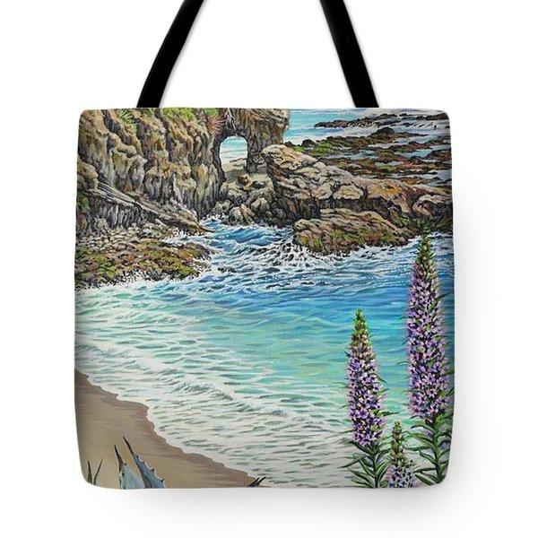 Keyhole Rock Laguna Tote Bag