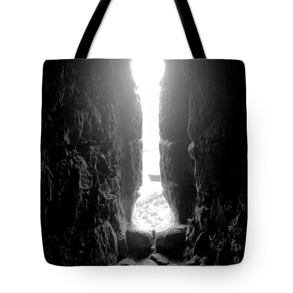 Keyhole Window Tote Bag