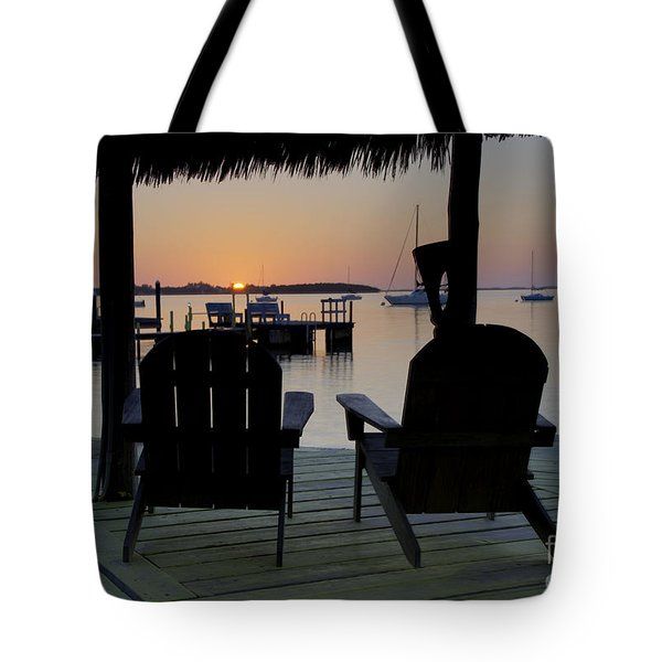 Keys Sunset Iv Tote Bag by Bruce Bain