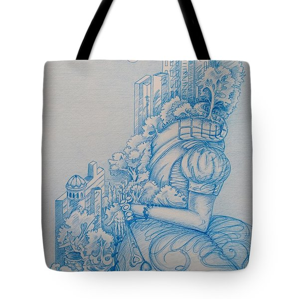 Keys To The City Tote Bag