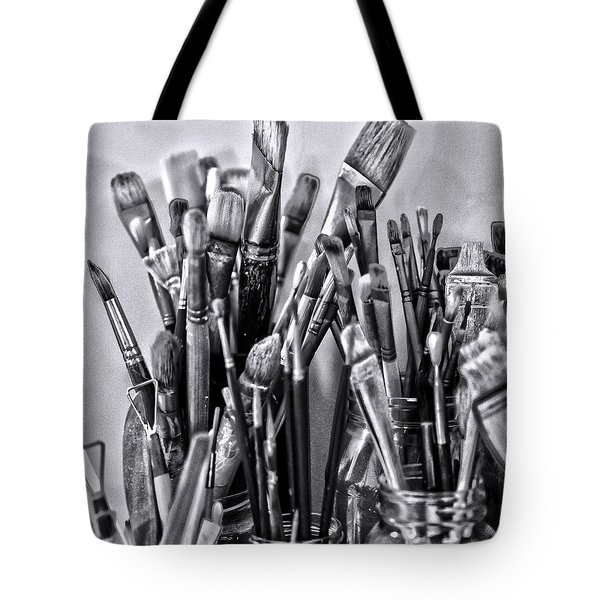 Keys To The Eye Of Life Bw By Denise Dube Tote Bag